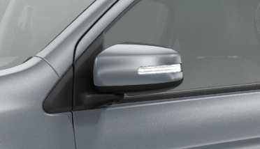 DOOR MIRROR WITH SIDE TURN LAMP